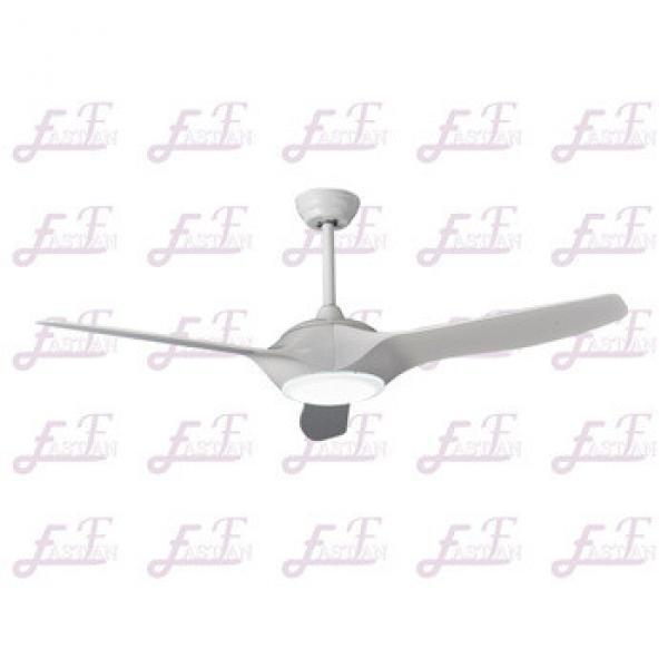 East Fan 52inch Three Blade Indoor DC Ceiling Fan with light modern white ceiling fan item EF52138