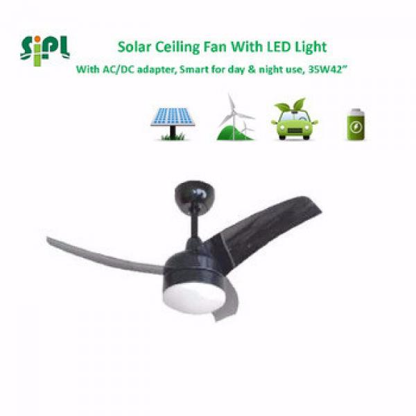 VENT KITS air cooling sun power 24v solar ceiling fan for ac/dc power adapter system