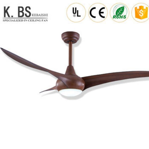 Good Quality LED Lamp Pendant 52 inch Wooden Ceiling Fan With Light
