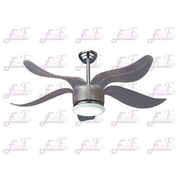 East Fan 52inch DC motor Ceiling Fan with light modern nickel ceiling fan item EF52136