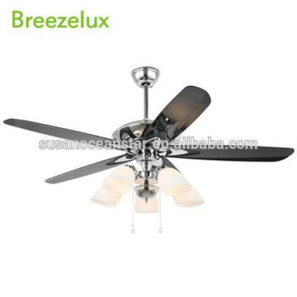 Low price Modern 5 blades 220v ceiling fan Pendant Lights energy saving