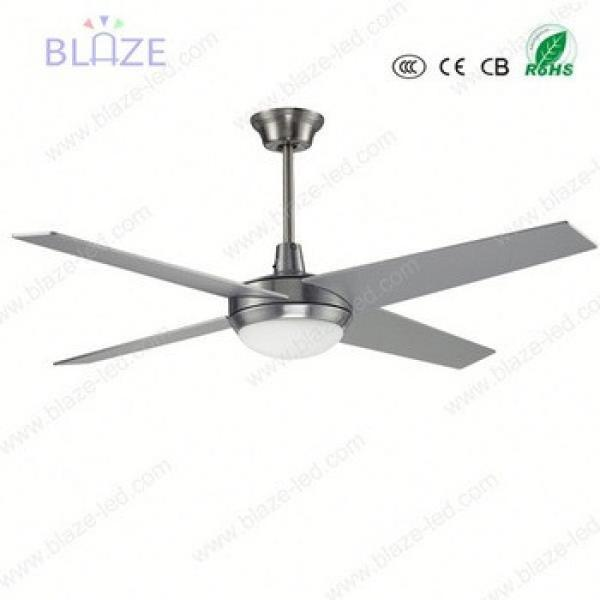 LED light ceiling fan hidden blade wifi remote control