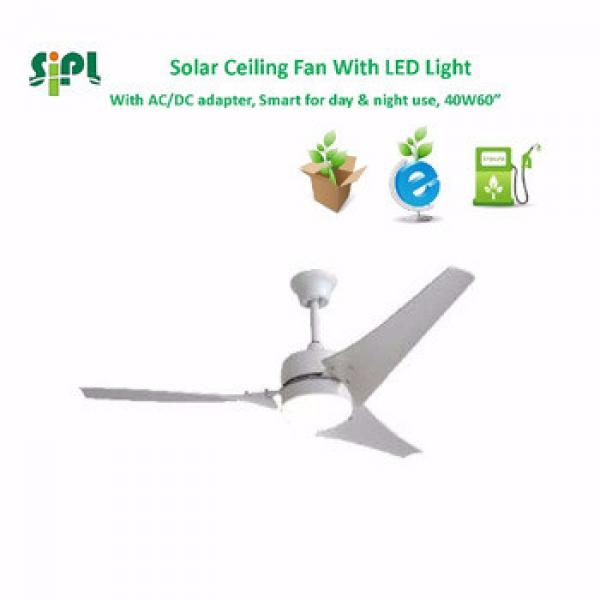 VENT KITS solar panel best selling solar 24v dc inverter ceiling fan with led light solar solar cooling ventilation ceiling fan