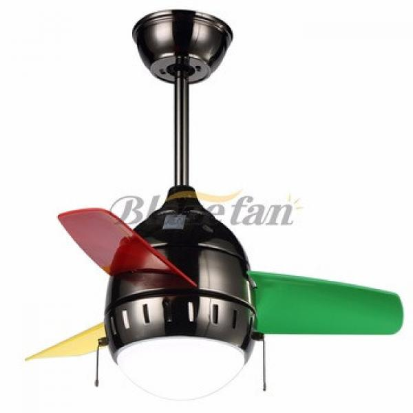 26 inch ceiling fan with LED light 3pcs ABS plastic blade 153*12 moter