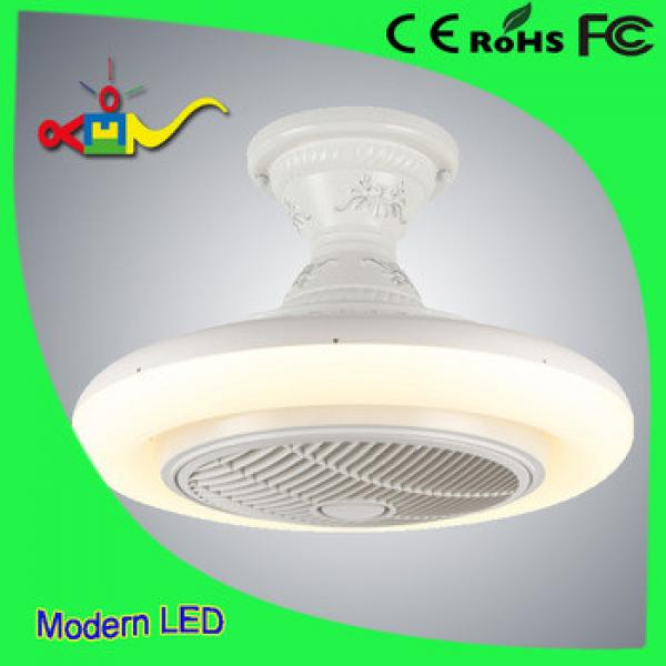 shenzhen modern ligthing 3 speed adjustable invisible ceiling fan light