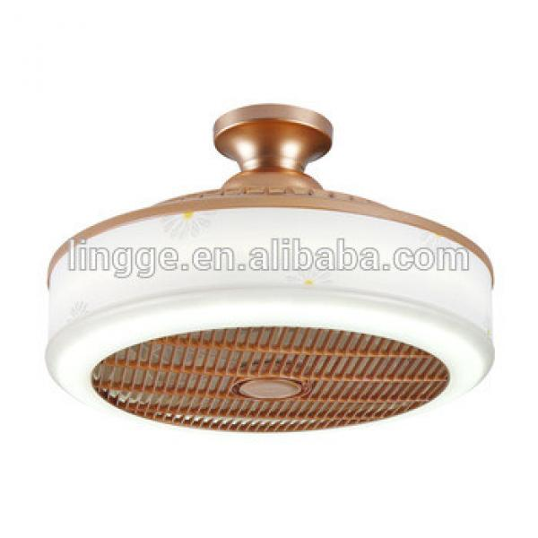 Decoration Home Customized Design 3 ABS Blade Indoor LED Ceiling Fan With Light