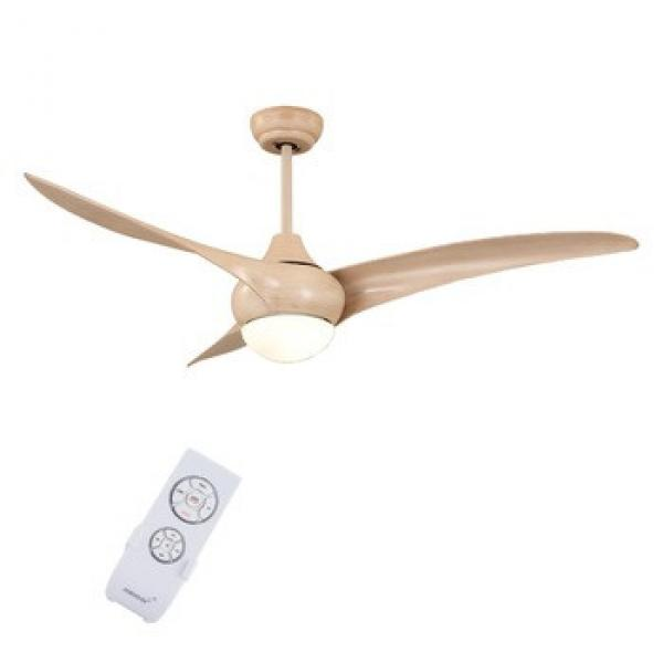 Most popular 3 blades decorative 52 inch ceiling fan with led light