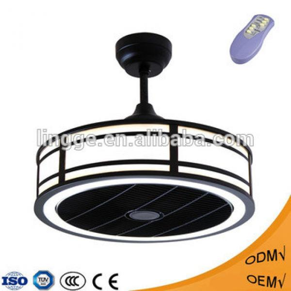 Hot sale elegant 3 ABS Blades fancy led ceiling fan light