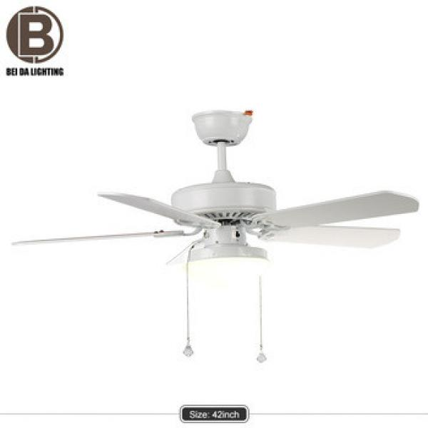 Industrial Ceiling Fan Lamp Fan Light Simple Wooded Home Indoor Lighting Fan