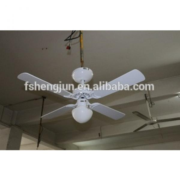 48/56 inch Decorative Ceiling Fan with & Light wooden blade
