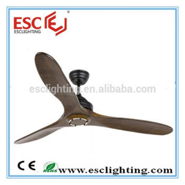 "52""ceiling fan big ceiling fan three wooden blades ceiling fan"