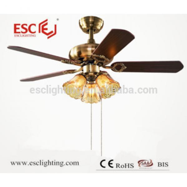 2017 Newest design ceiling fan lights/ led ceiling fan lamp/ ceiling fan
