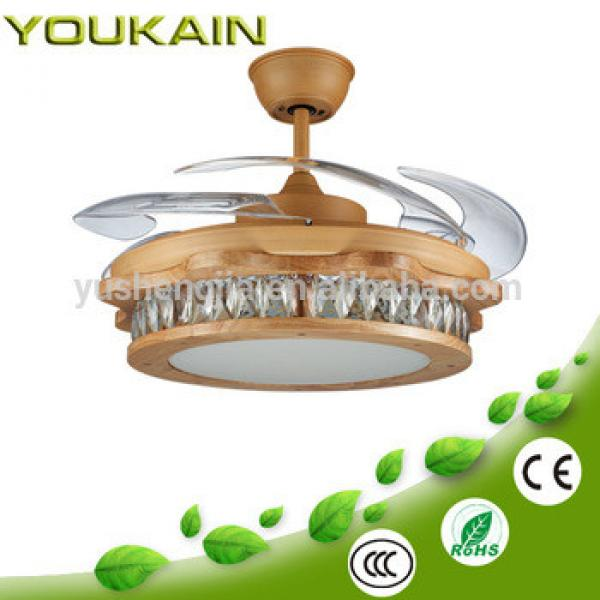 360 series luxury diamond decor low watt fancy cooling fan