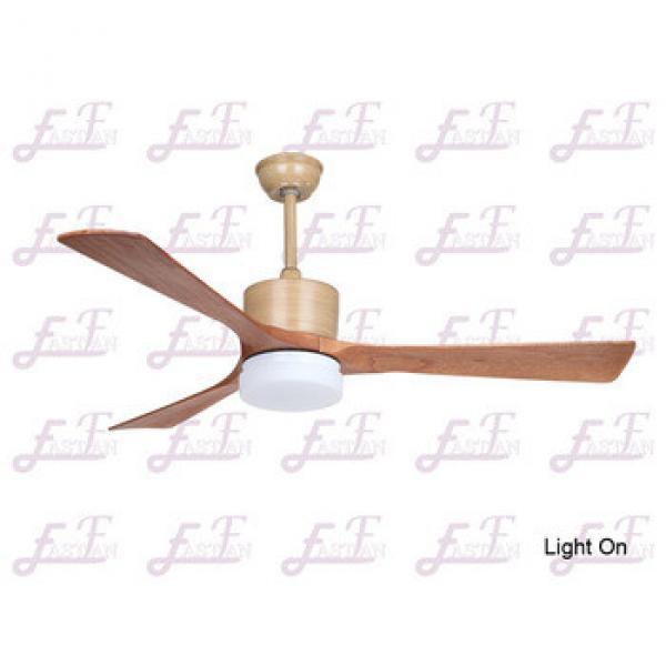 East Fan 54 inch modern natural wood Ceiling Fan with light item EF54105