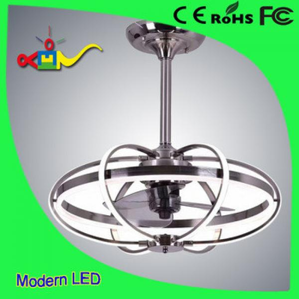 42 inch CCT adjustable remote controledl modern ceiling fan with led light