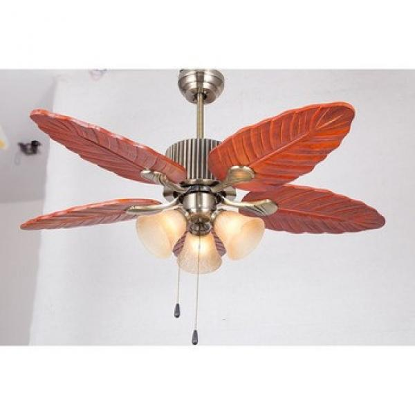 New Arrival Promotion personalized wooden blades ceiling fan light
