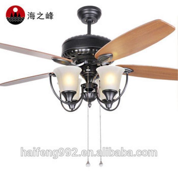 52 inch wooden fan blade ceiling fans