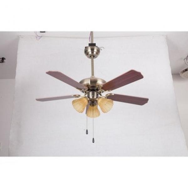 Latest Fashion latest 52 inch wood blades ceiling fan