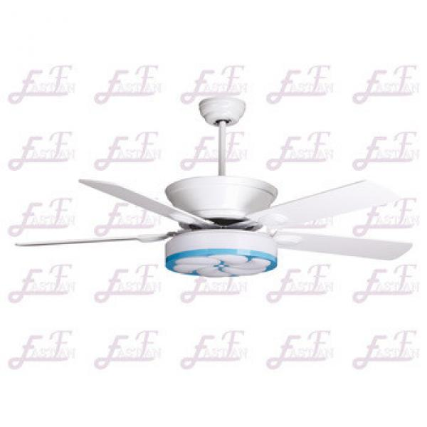 East Fan 52inch Five Blade Indoor Ceiling Fan with light item EF52110 white ceiling fans