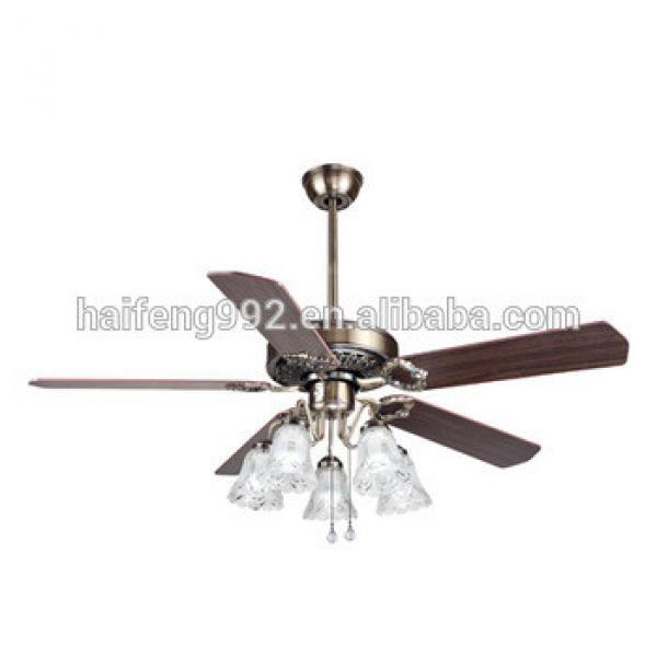 zhongshan wooden fan blade ceiling fans with lamps