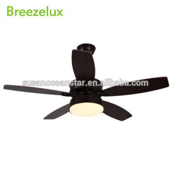 5 Wooden Blades High Quality modern decorative ceiling fan dinning room chandelier