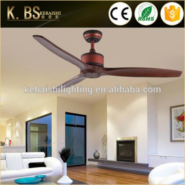 Hot Sale Antique Style Solid Wood Ceiling Fan Low Power Consumption Silent Fan With CE UL ROHS