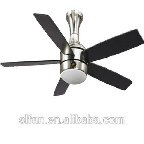 52 inch ceiling fan led light in brushed nickel finish with remote control