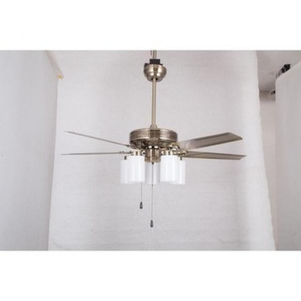 Newest best quality wood blades ceiling fan led