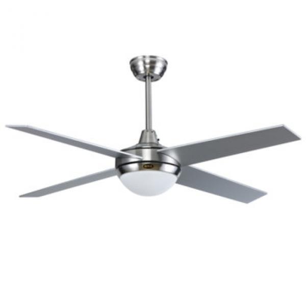 48 inch AC motor ceiling fan high quality wood blade fashion design ceiling fan with LED lights