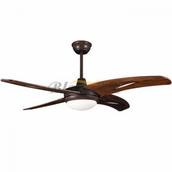 52 inch morden fashion decorative lighting ceiling fan 3 wood blade 52-1516