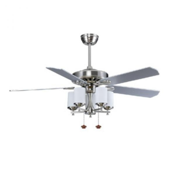 52 inch wood blades leave shape popular ceiling fan with lights