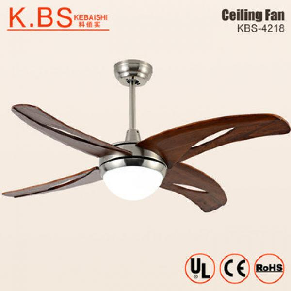 Modern Antique Electric Remote Controlled Decorate Ceiling Fan With Led Light