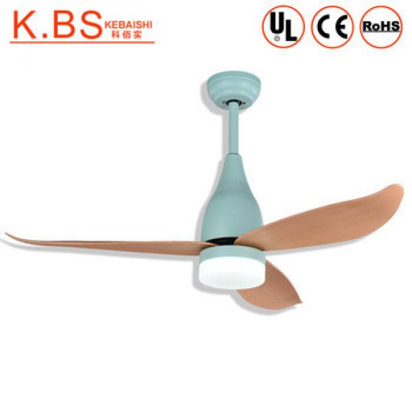 Antique Ceiling Lamps ABS Blade Remote Control Ceiling Fan With Light