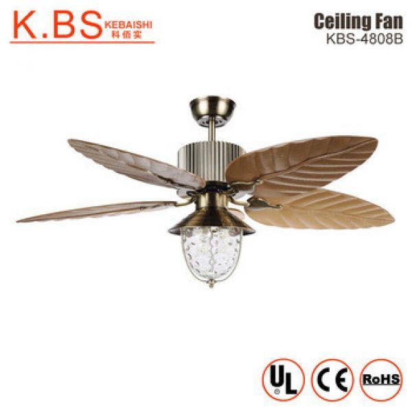 Western Housing Chandelier Lamp Fan Crystal Controller Ceiling Fan Lamp With Light