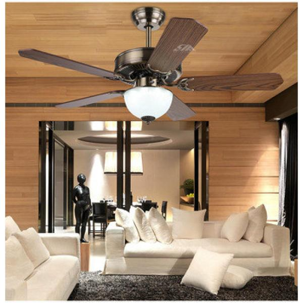 48 inch ceiling fan with light indoor&out door use wood blade CE CCC SAA