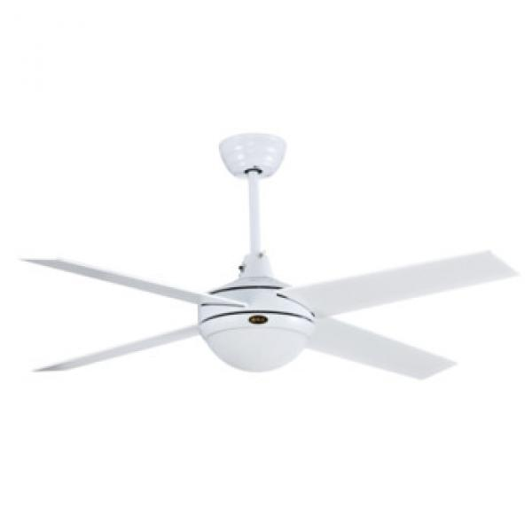 """48"""" inch high quality ceiling fan with LED light and remote control fashion design SAA CB CE certificate"""