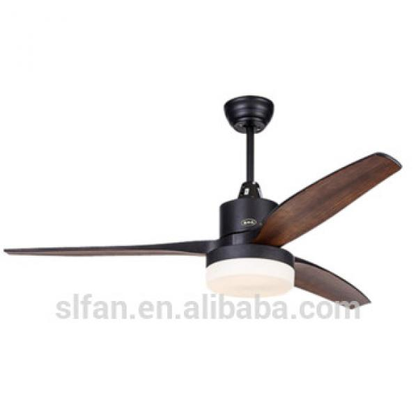 52 inch energy star LED ceiling fan lights with plastic ABS blades remote control+CE,UL certificate