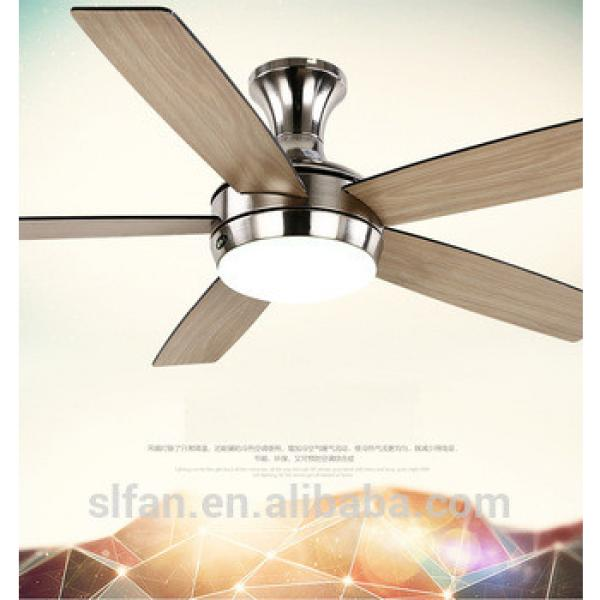 """52"""" ceiling fan Black/brown blades and glass light kits for living room bed room dining room"""