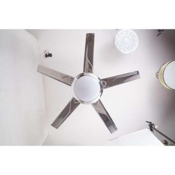 Jiangmen manufacture Best Selling iron blade ceiling fan with LED lights