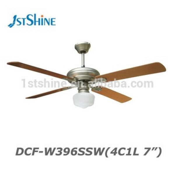 Hot Sell 52 Inch 4 MDF Blade 1 Light Decorative Ceiling Fan Manufacturers
