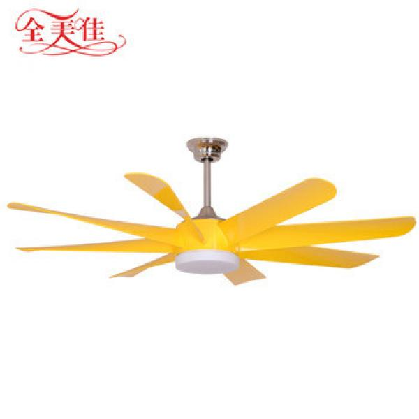 Zhongshan manufacturers new energy saving ABS blades remote control ceiling fan with light