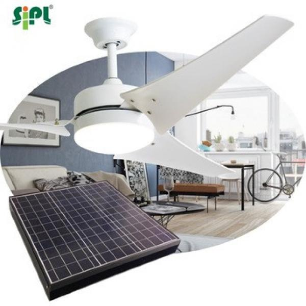 orient style 60 inch 40 watt bldc giant solar ceiling fan with light dc motor cooper coil Japan bearing air condition