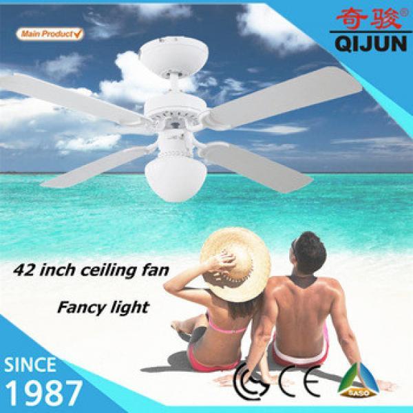 42 inch fancy ceiling fan light with 4 MDF blades