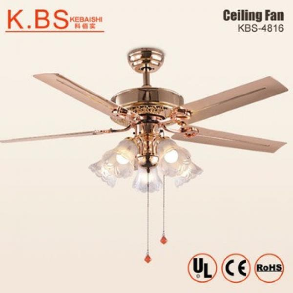 Fancy Design Pendant Fan Lamp Indoor Decorative Ceiling Fan With Light