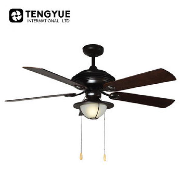 wholesales 48 inch Decorative fancy ceiling fan with light AC strong motor ventilating fan ceiling fans