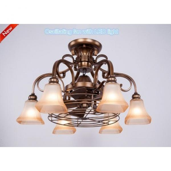 New style fancy decorative ceiling fan with lights