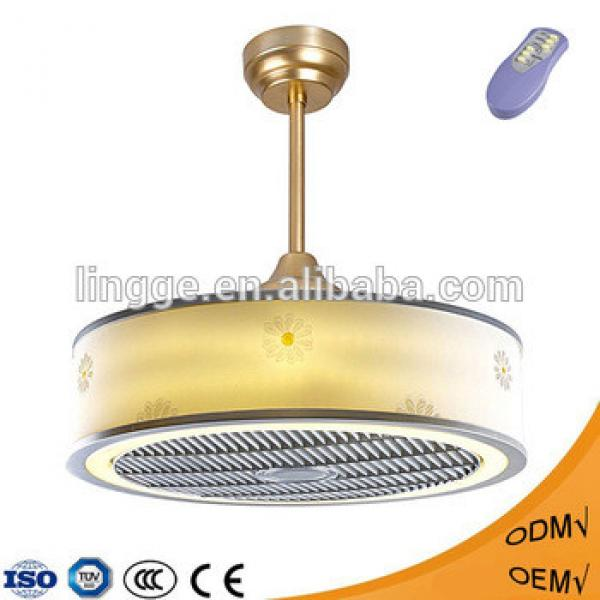 Professional custom home appliances decoration bladeless ceiling fan