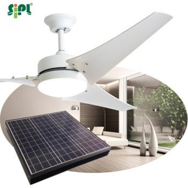 solar fan 12v ceiling fan with light and remote 40W modern decorative lighting ceiling fan