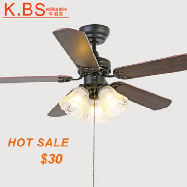 Decorative Orient Powerful Celling Fan Remote Control Ceiling Fan With LED Light