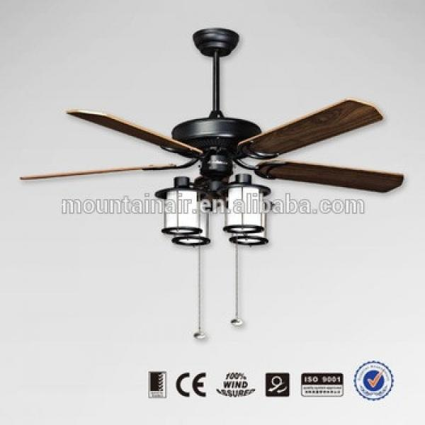 Mountain air 5 blades ceiling fan with light 52YFT-1086A